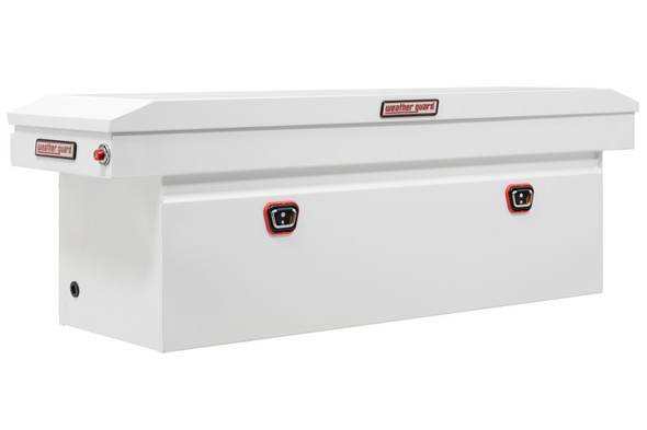 Weather Guard Model 128-X-03 Saddle Box, Steel, Full Deep, 14.3 cu ft