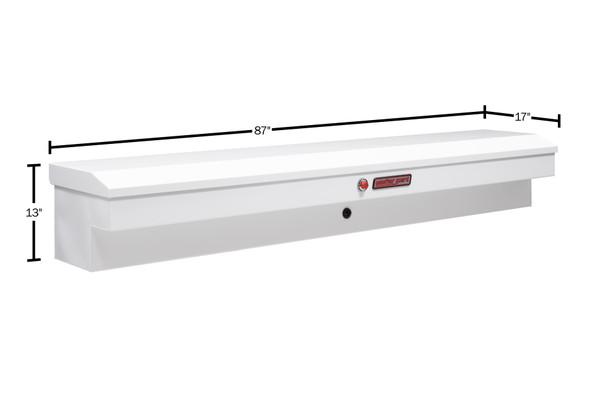 """Weather Guard Model 165-X-03 87"""" Lo-Side Box, Steel, 6.6 cu ft"""