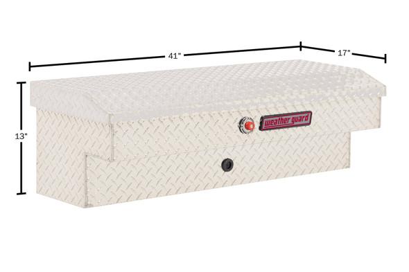 "Weather Guard Model 184-X-03 41"" Lo-Side Box, Aluminum, 3.0 cu ft"