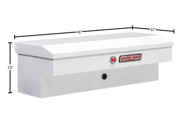 """Weather Guard Model 185-X-03 41"""" Lo-Side Box, Steel, 3.0 cu ft"""