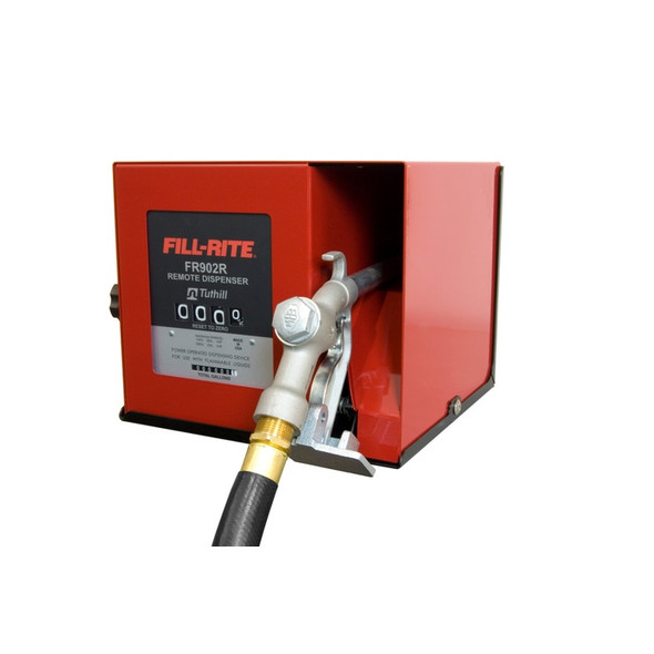 """Fill-Rite FR902CRU Up to 40 GPM, Compact Cabinet Meter (Uses 901C Gallon Meter), 1"""" Inlet and Outlet, Built in Junction Box, 115V AC Solenoid Valve.  Use with 300 & 700 Series Remote Pumps."""