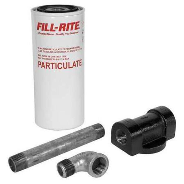 Fill-Rite 1200KTF7018 / 18 GPM, Filter Housing, Fuel, NPT 3/4 In