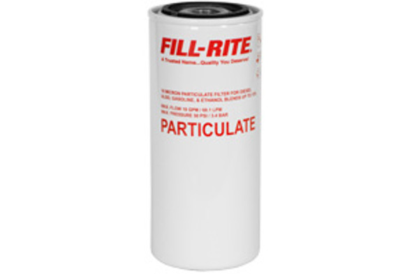 Fill-Rite F1810PM1 / 18 GPM Fill-Rite Spin-On Particulate Filter with Drain Valve