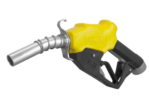 "Fill-Rite N100DAU13Y / 1"" Ultra Hi-Flow Nozzle - Yellow"
