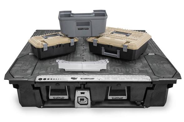 """DECKED Drawer System MF3 - Ford Ranger (2019-current) Bed Length 5' 0"""" Color: Black"""