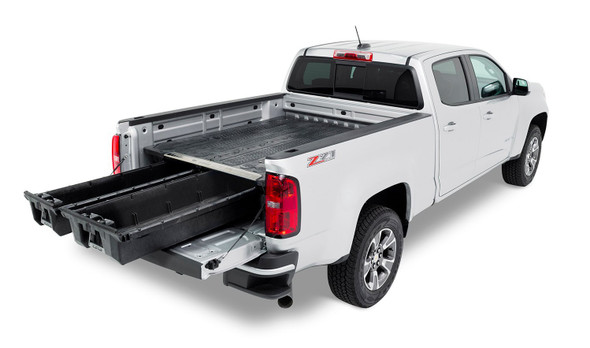 """DECKED Drawer System MG4 - GMC Canyon & Chevrolet Color:ado (2015-current) Bed Length 6' 2"""" Color: Black"""