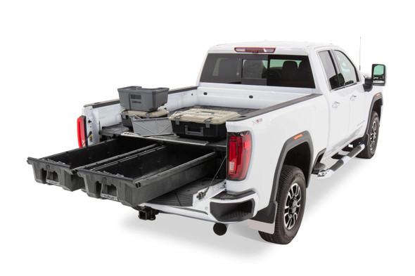 "DECKED Drawer System DG8 - GM Sierra or Silverado 2500 & 3500 (2020-current) - New ""wide"" bed width Bed Length 6' 9"" Color: Black"