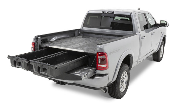 """DECKED Drawer System DR7 - RAM 1500 (2019-current) - New body style Bed Length 6' 4"""" Color: Black"""