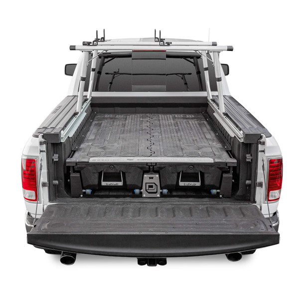 """DECKED Drawer System DR8 - RAM 1500 RamBox (2009-current) Bed Length 5' 7"""" Color: Black"""