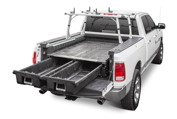 """DECKED Drawer System DR9 - RAM 1500/2500/3500 RamBox (2009-current) Bed Length 6' 4"""" Color: Black"""