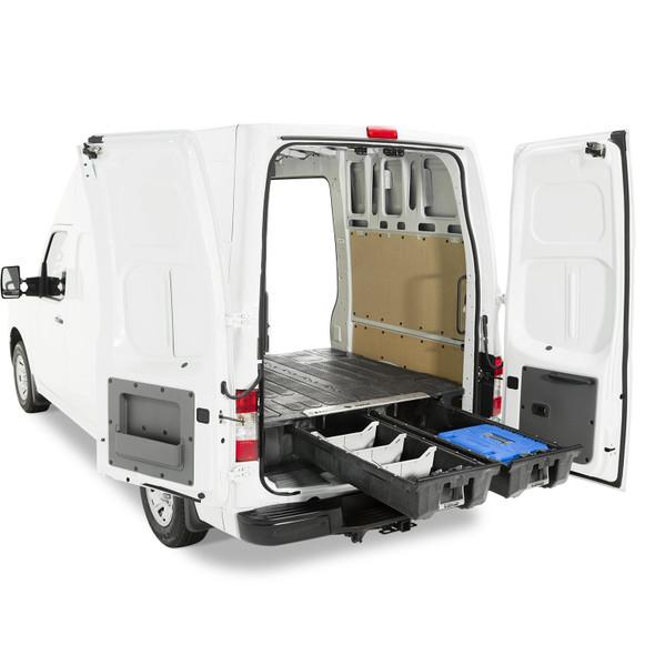 """DECKED Drawer System VNNS11NSNV55 - Nissan NV (2012-current) Bed Length 146.1"""" Color: Black"""