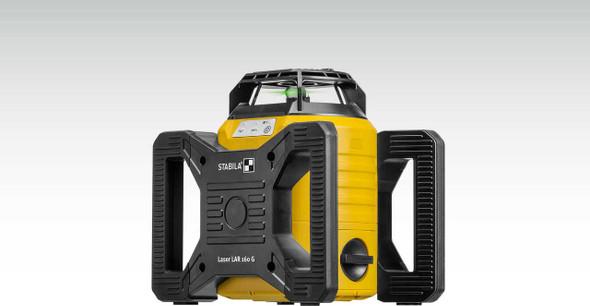 Stabila 4500 LAR-160G Green Laser Set W/Tripod & Grade Rod