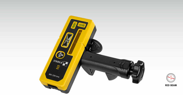 Stabila 7335 | REC 220 Laser Line Receiver with Bracket