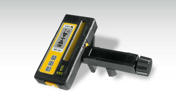 Stabila 7340 | REC 160 RG receiver For measurements over large distances – suitable for rotary lasers with green or red diodes