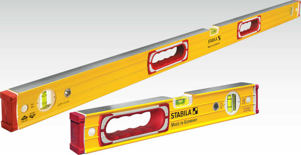 Stabila 37816 | Type 196, 48 inch plus 16 inch Heavy Duty Level Set