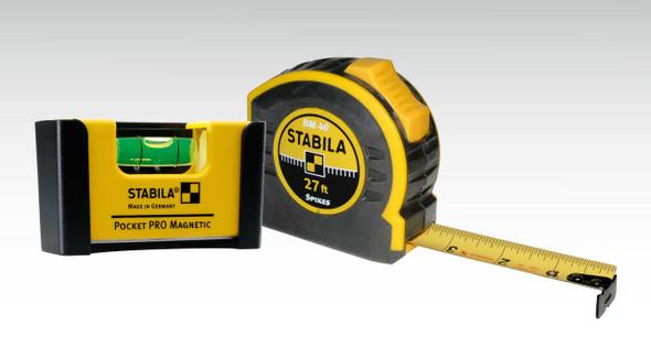 Stabila 11927 Quick Check Pocket Pro Plus 27' Tape