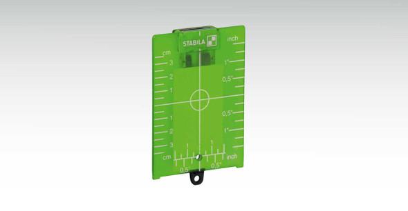 Stabila 7442 Green Magnetic Ceiling Target Plate