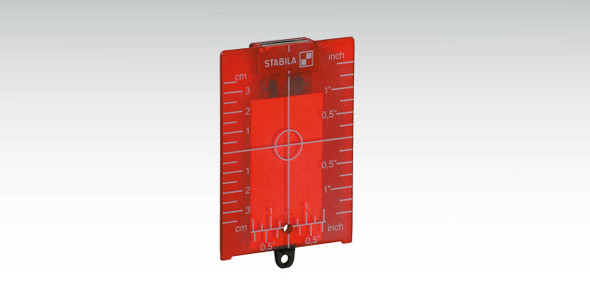 Stabila 7474 Red Magnetic Target Plate