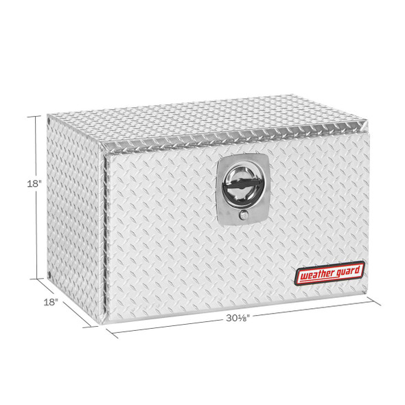 WeatherGuard Model 631-X-02 Underbed Box, Aluminum, Compact, 5.4 cu ft