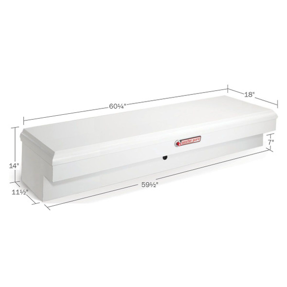 WeatherGuard Model 176-X-01 Super Lo-Side Box, Steel, Standard, 6.5 cu ft