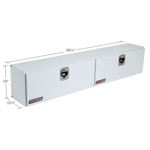 WeatherGuard Model 296-3-02 Hi-Side Box, Steel, 11.8 cu ft