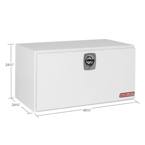 WeatherGuard Model 550-X-02 Underbed Box, Steel, Jumbo, 16.2 cu ft