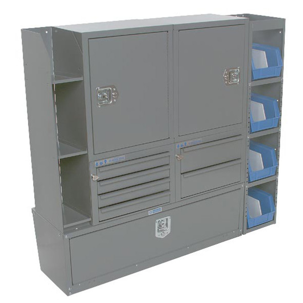 Adrian Steel  #MD534 Cabinet and Drawer Module , Gray