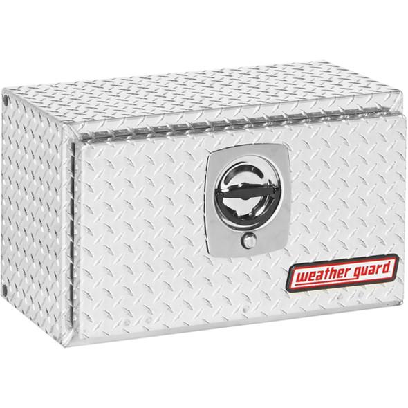 Weather Guard Model 622-X-02 Underbed Box, Aluminum, Compact, 2.4 cu ft