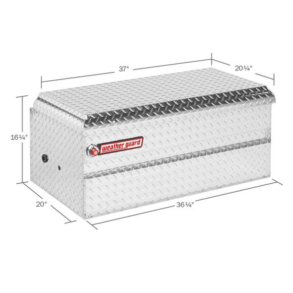 Weather Guard Model 644-X-01 All-Purpose Chest, Aluminum, Compact, 6.0 cu ft