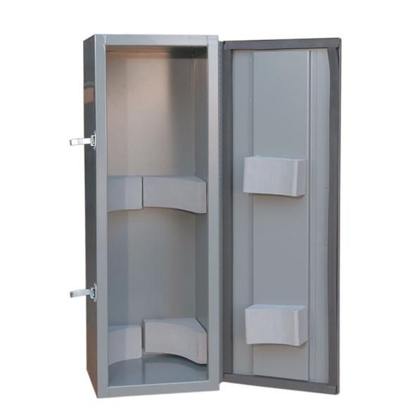 Adrian Steel #TA19 Compressed Gas Tank Cabinet, Gray
