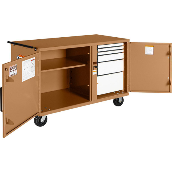 Knaack Model 58 STORAGEMASTER Heavy-Duty Rolling Bench, 1,000 lbs