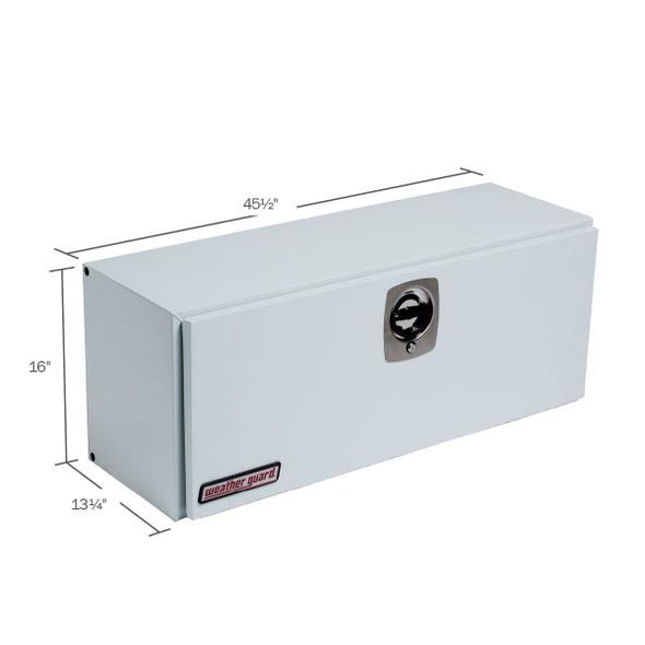 WeatherGuard Model 246-3-02 Hi-Side Box, Steel, 5.6 cu ft