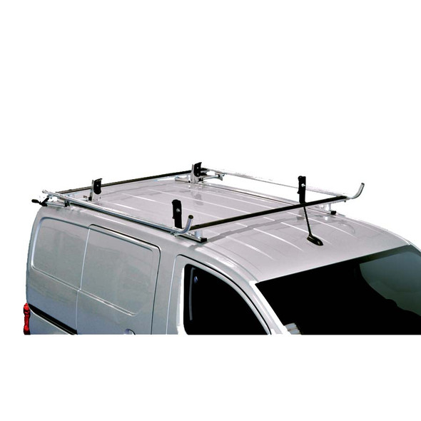 Adrian Steel #4968 - Grip Lock Ladder Rack & Partition Starter Package, Gray, City Express, NV200