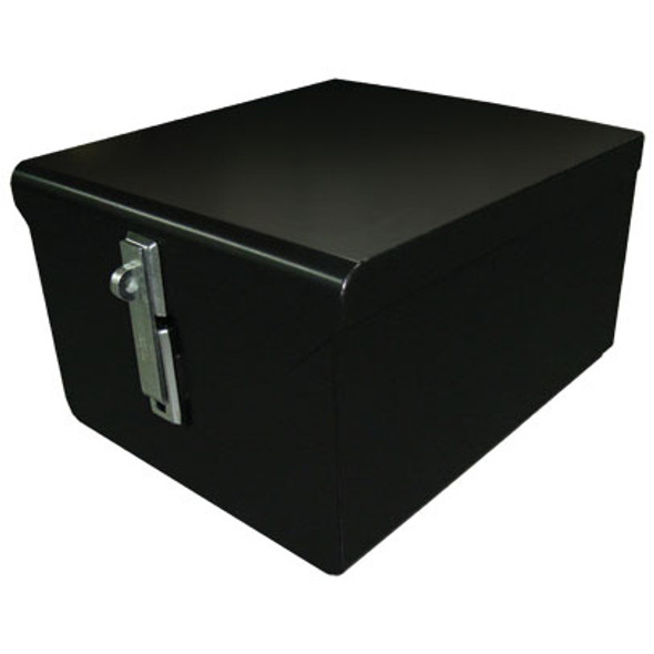 Adrian Steel #LKB1 Lock Box, 20w x 14.5h x 25d, Black