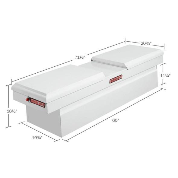 Weather Guard Model 125-X-01 Cross Box, Steel, Full Standard, 11.3 cu ft