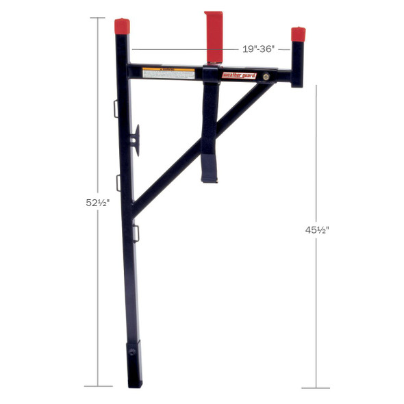 WeatherGuard Model 1450 WEEKENDER Ladder Rack, Horizontal