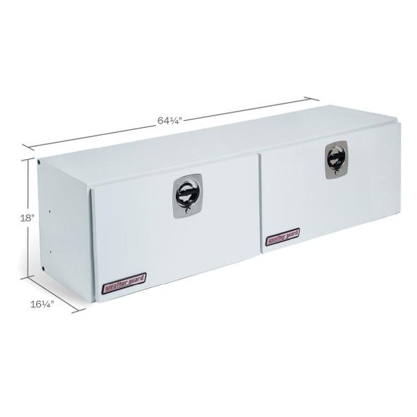 WeatherGuard Model 265-3-02 Super-Side Box, Steel, 10.8 cu ft