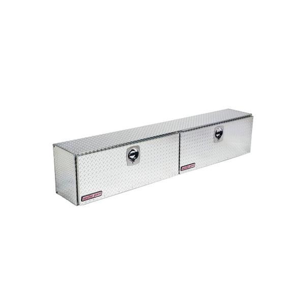 Weather Guard Model 390-X-02 Hi-Side Box, Aluminum, Driver Side, 11.1 cu ft