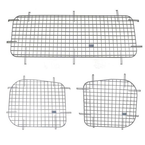 Adrian Steel #60-NSDRD Side & Rear Doors Security Screen Kit, Gray, NV