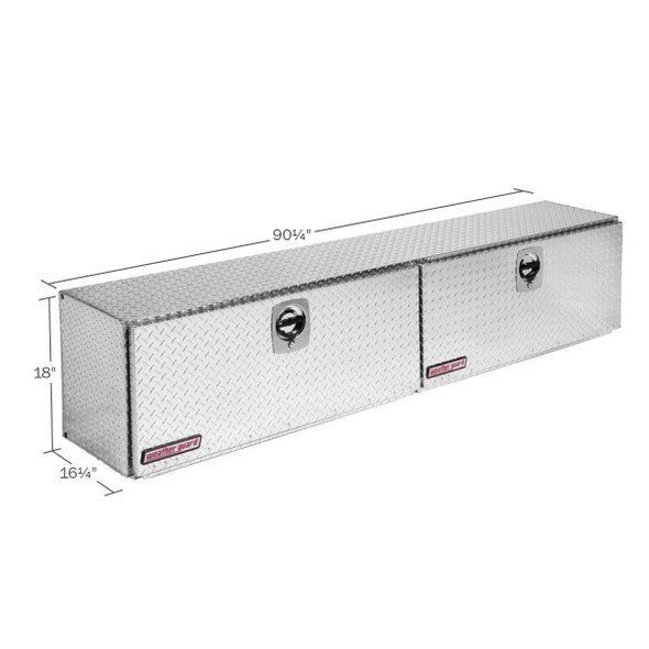 WeatherGuard Model 391-X-02 Super-Side Box, Aluminum, 15.2 cu ft