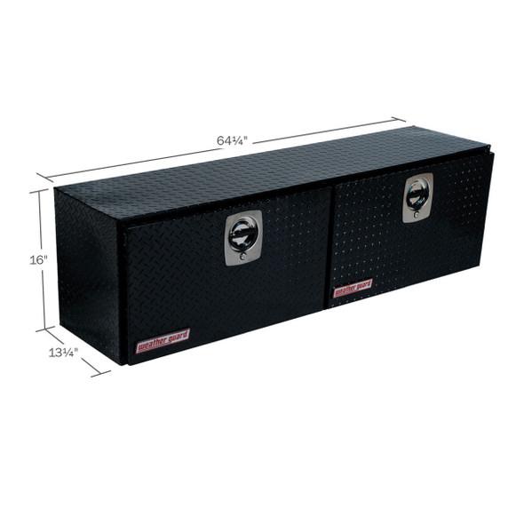 Weather Guard Model 364-X-02 Hi-Side Box, Aluminum, 7.9 cu ft