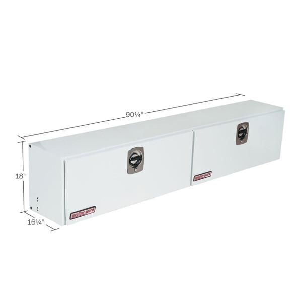 WeatherGuard Model 291-3-02 Super-Side Box, Steel, 15.2 cu ft