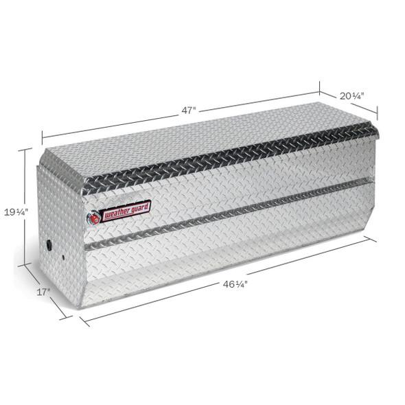 Weather Guard Model 674-X-01 All-Purpose Chest, Aluminum, Full Compact, 10.0 cu ft