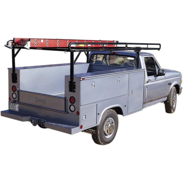 WeatherGuard Model 1225 Service Body Rack, Steel, Full