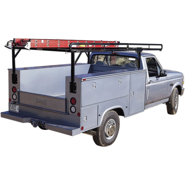 Weather Guard Model 1225 Service Body Rack, Steel, Full