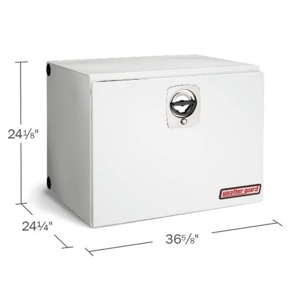 Weather Guard Model 538-X-02 Underbed Box, Steel, Jumbo, 12.1 cu ft
