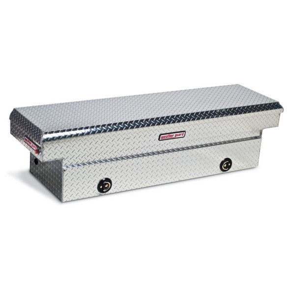 Weather Guard Model 127-X-02 Saddle Box, Aluminum, Full Standard, 11.3 cu ft