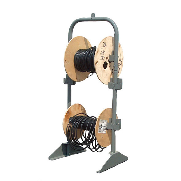 Adrian Steel #CRH2 Cable Reel Holder, 19w x 44h x 16d, Gray