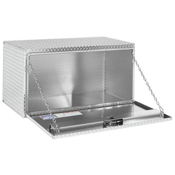 Weather Guard Model 650-0-02 Underbed Box, Aluminum, Jumbo, 16.0 cu ft