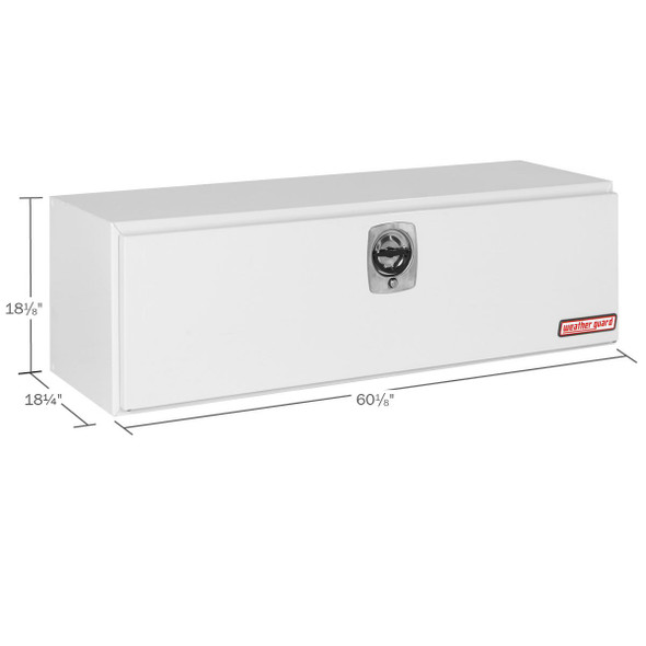 WeatherGuard Model 560-X-02 Underbed Box, Steel, 11.2 cu ft